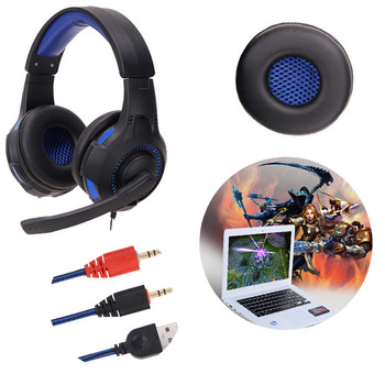 Surround Stereo Gaming Headset Kafa Kulaklık için Mic ile USB 3.5mm PC O16